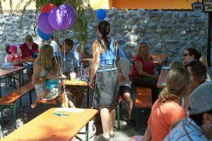 Biergarten Familienfest